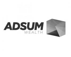Adsum Wealth Logo B&W